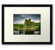 Menlo Castle Framed Print