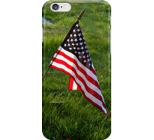 To Honor the Fallen ~ Memorial Day iPhone Case/Skin