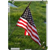 To Honor the Fallen ~ Memorial Day iPad Case/Skin