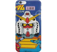 Mobile Suit Gundam Record Sleeve Front Cover iPhone Case/Skin