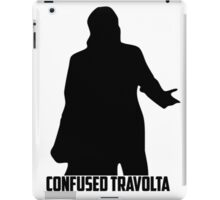 Confused Travolta iPad Case/Skin