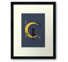 My Moon Framed Print