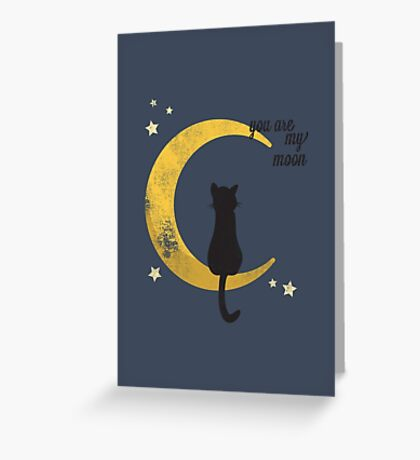 My Moon Greeting Card