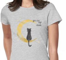 My Moon Womens Fitted T-Shirt
