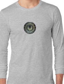 Battlestar Galactica Badge Long Sleeve T-Shirt
