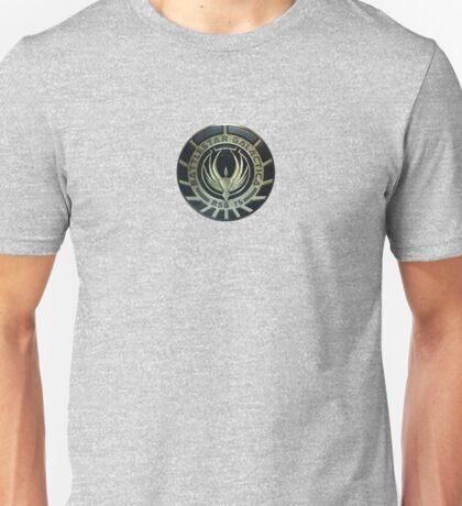 Battlestar Galactica Badge Unisex T-Shirt