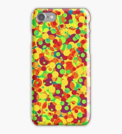 Playful bubbles iPhone Case/Skin