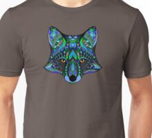Psychedelic Fox Spirit Totem Guide Sacred Shaman Unisex T-Shirt