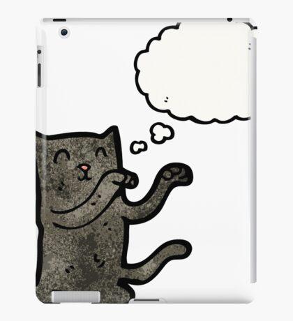 cartoon dancing cat iPad Case/Skin