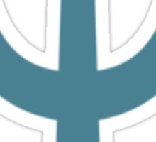 Neptune Symbol Sticker