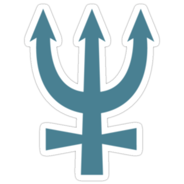 Neptune Symbol by meatballhead