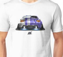 naquash design toyota gt86 with wide body race purple rear end Unisex T-Shirt