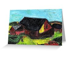 Down On The Farm.. Greeting Card