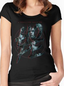 Star Wars Rouge One Tribute Women's Fitted Scoop T-Shirt