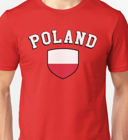 Poland Supporters Unisex T-Shirt
