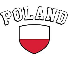 Poland Supporters Photographic Print