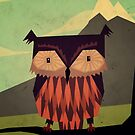 Owl by Yetiland