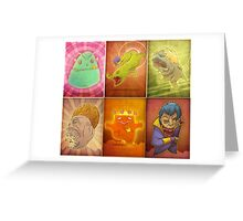 Monster Collection Greeting Card