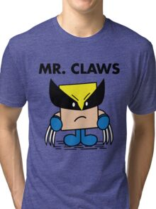 Mr. Claws Tri-blend T-Shirt