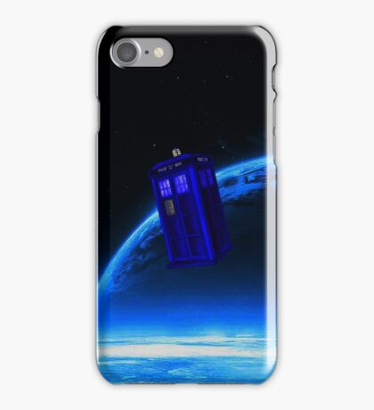 tardis in the sky  iPhone Case/Skin