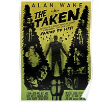 Alan Wake in The Taken Poster
