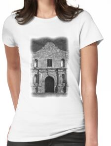 The Alamo Womens Fitted T-Shirt