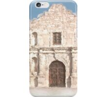 The Alamo Facade iPhone Case/Skin