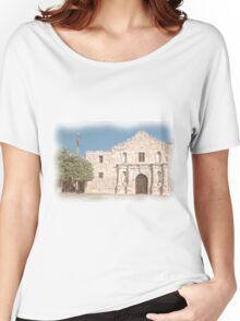 The Alamo Facade Women's Relaxed Fit T-Shirt