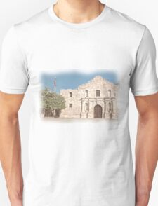 The Alamo Facade Unisex T-Shirt
