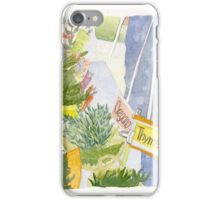 Herbs and Greens Tent iPhone Case/Skin