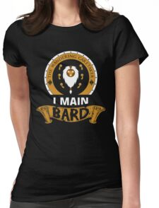 I Main Bard Womens Fitted T-Shirt