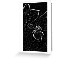 Night Scarab Greeting Card