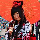 Japanese Girl by Jeanette Varcoe.