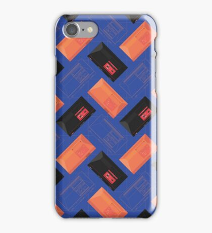 Master System mix (Blue) iPhone Case/Skin