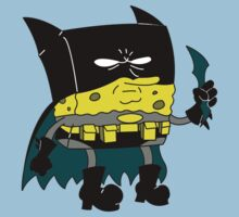 Bat-Sponge Dork Knight Edition Baby Tee
