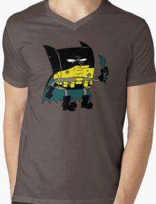 Bat-Sponge Dork Knight Edition Mens V-Neck T-Shirt