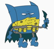 Bat-Sponge One Piece - Short Sleeve