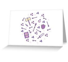 Role Playing Items 02 Greeting Card