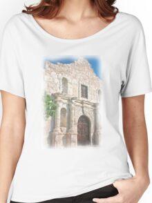Alamo Facade Women's Relaxed Fit T-Shirt