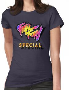 Fatal Fury Special (SNES Title Screen) Womens Fitted T-Shirt