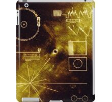 Voyager Golden Record iPad Case/Skin