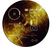 Voyager Golden Record Photographic Print