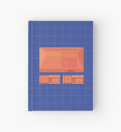 Master System neon single (blue) Hardcover Journal