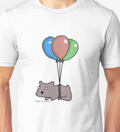 Balloon Hamster Frank by Panel-O-Matic Unisex T-Shirt