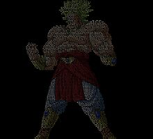 Broly The Legeendary Super Sayien by mrchavez1