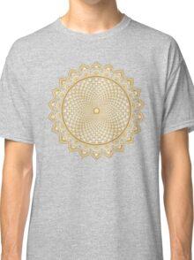 Crown Chakra, Sahasrara , Yoga, Buddhism, Lotus Flower Classic T-Shirt