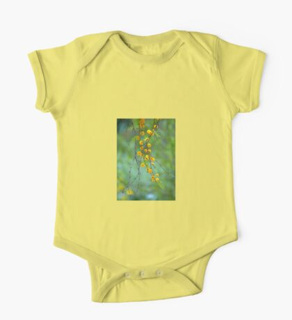 Yellow Tree Blossoms One Piece - Short Sleeve