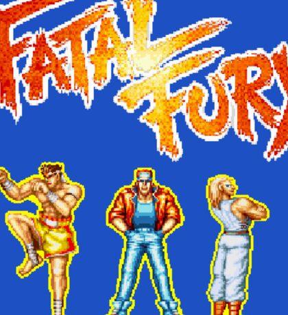 Fatal Fury (Neo Geo) Sticker