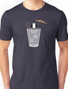 Penguin on the rocks Unisex T-Shirt
