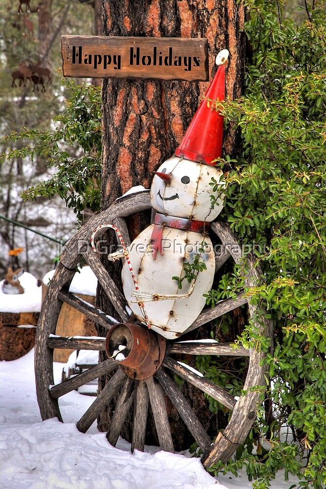 Happy Holidays  by K D Graves Photography